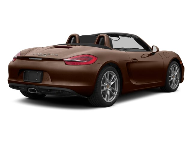 Mahogany Metallic 2013 Porsche Boxster Pictures Boxster Roadster 2D photos rear view
