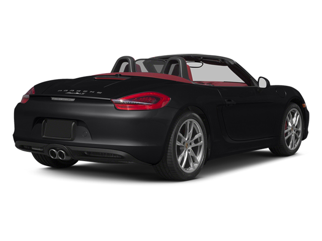 Black 2013 Porsche Boxster Pictures Boxster Roadster 2D S photos rear view