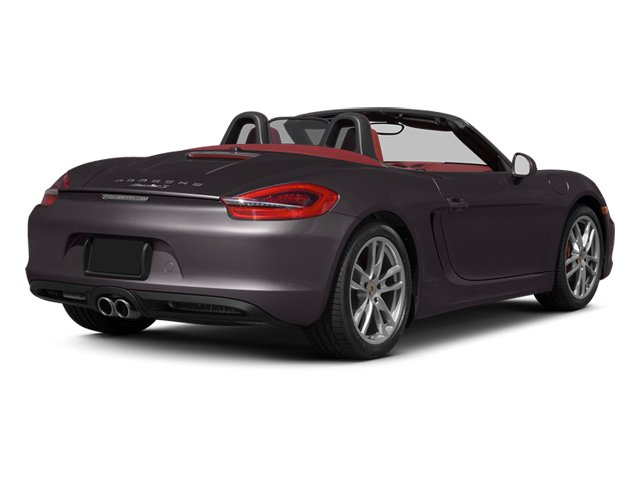 Anthracite Brown Metallic 2013 Porsche Boxster Pictures Boxster Roadster 2D S photos rear view