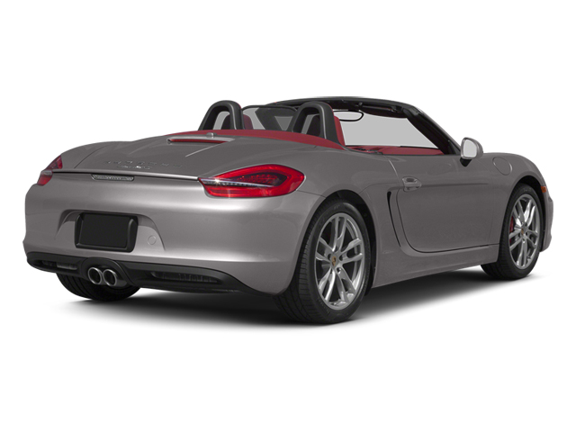 Agate Grey Metallic 2013 Porsche Boxster Pictures Boxster Roadster 2D S photos rear view