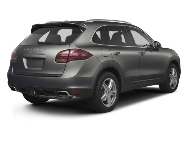 Meteor Grey Metallic 2013 Porsche Cayenne Pictures Cayenne Utility 4D S AWD (V8) photos rear view
