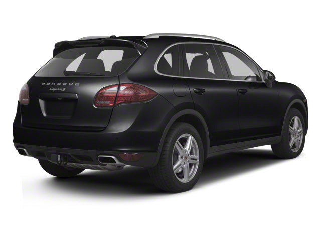 Black 2013 Porsche Cayenne Pictures Cayenne Utility 4D S AWD (V8) photos rear view