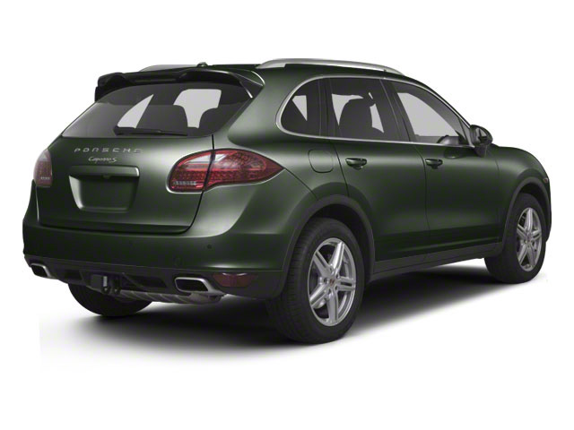 Jet Green Metallic 2013 Porsche Cayenne Pictures Cayenne Utility 4D S AWD (V8) photos rear view