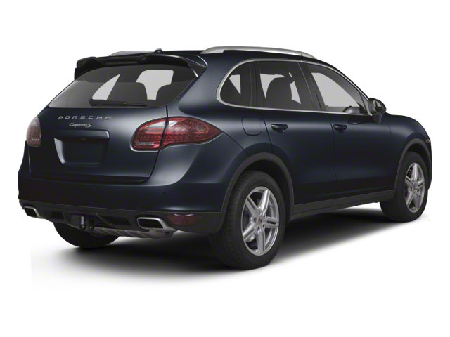 Dark Blue Metallic 2013 Porsche Cayenne Pictures Cayenne Utility 4D S AWD (V8) photos rear view