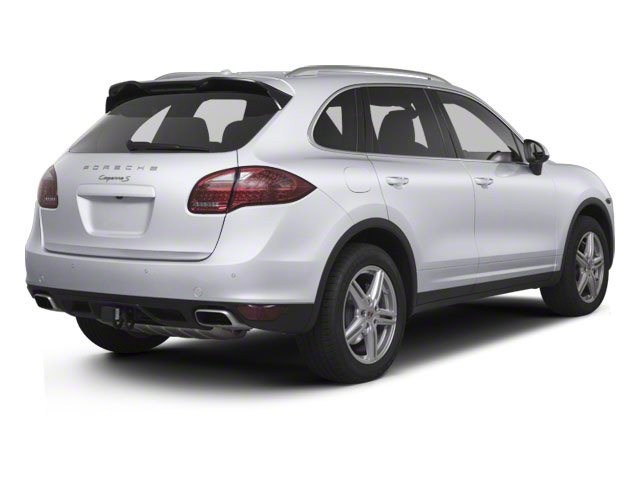 Classic Silver Metallic 2013 Porsche Cayenne Pictures Cayenne Utility 4D S AWD (V8) photos rear view