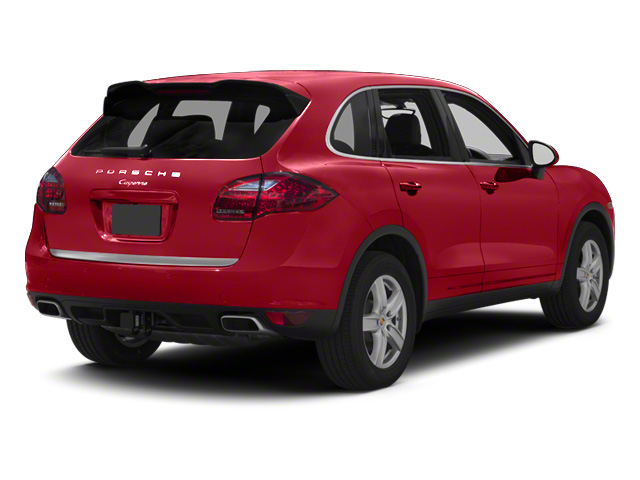 Carmine Red 2013 Porsche Cayenne Pictures Cayenne Utility 4D Diesel AWD (V6) photos rear view