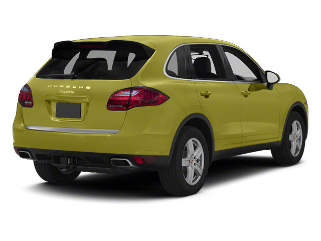 Peridot Metallic 2013 Porsche Cayenne Pictures Cayenne Utility 4D Diesel AWD (V6) photos rear view