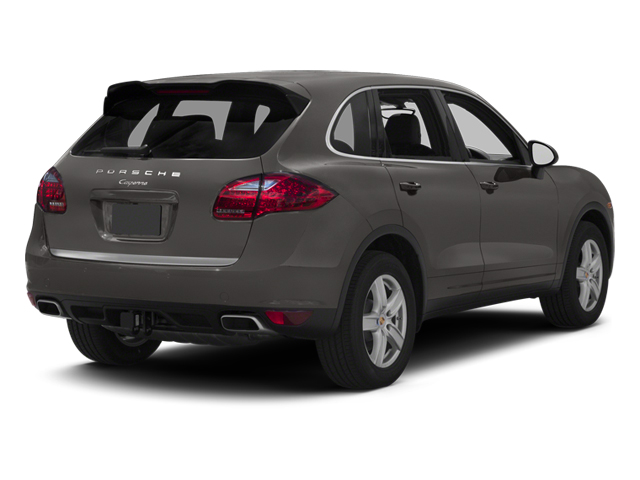 Meteor Grey Metallic 2013 Porsche Cayenne Pictures Cayenne Utility 4D Diesel AWD (V6) photos rear view