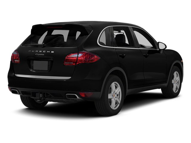 Black 2013 Porsche Cayenne Pictures Cayenne Utility 4D Diesel AWD (V6) photos rear view