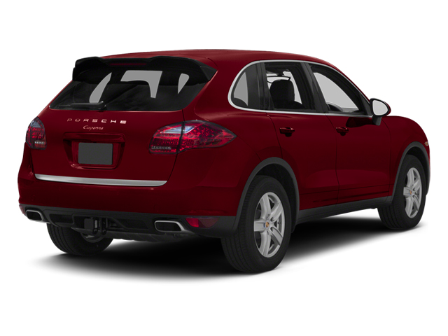 Auburn Metallic 2013 Porsche Cayenne Pictures Cayenne Utility 4D Diesel AWD (V6) photos rear view