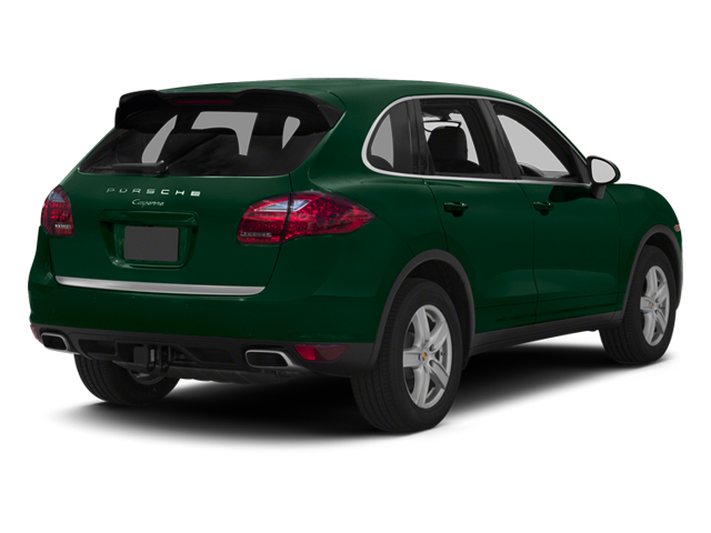 Jet Green Metallic 2013 Porsche Cayenne Pictures Cayenne Utility 4D Diesel AWD (V6) photos rear view