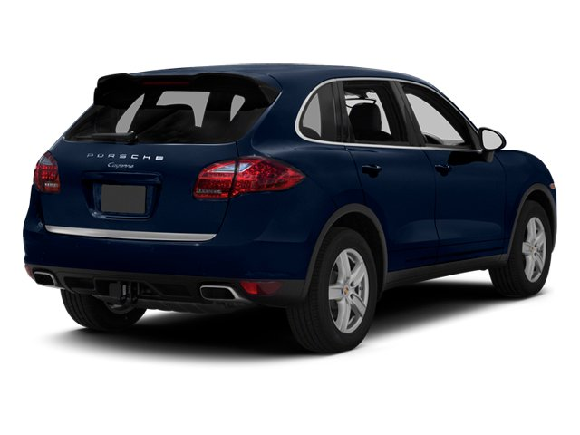 Dark Blue Metallic 2013 Porsche Cayenne Pictures Cayenne Utility 4D Diesel AWD (V6) photos rear view
