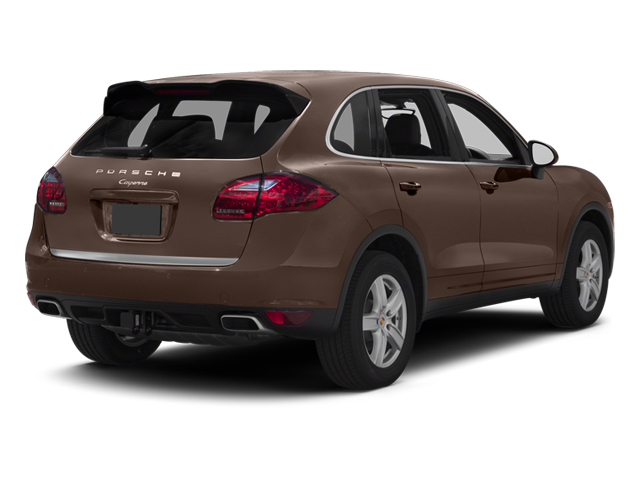 Umber Metallic 2013 Porsche Cayenne Pictures Cayenne Utility 4D Diesel AWD (V6) photos rear view