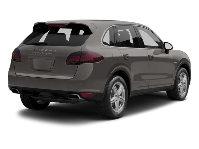 Meteor Grey Metallic 2013 Porsche Cayenne Pictures Cayenne Utility 4D S Hybrid AWD (V6) photos rear view