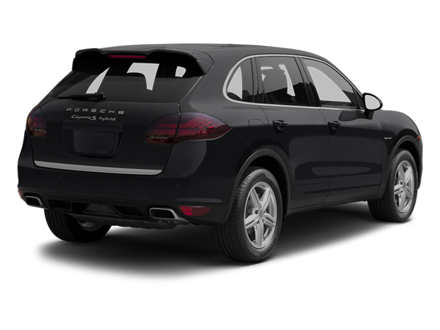 Black 2013 Porsche Cayenne Pictures Cayenne Utility 4D S Hybrid AWD (V6) photos rear view