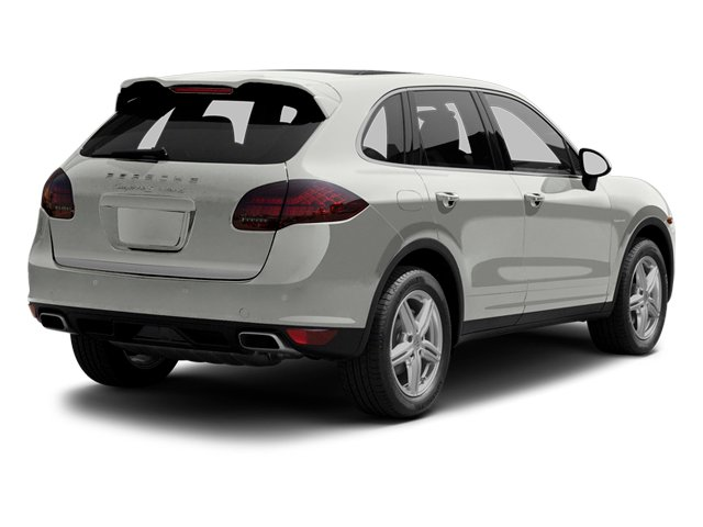 Classic Silver Metallic 2013 Porsche Cayenne Pictures Cayenne Utility 4D S Hybrid AWD (V6) photos rear view
