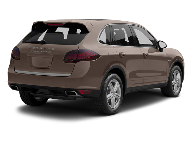 Umber Metallic 2013 Porsche Cayenne Pictures Cayenne Utility 4D S Hybrid AWD (V6) photos rear view