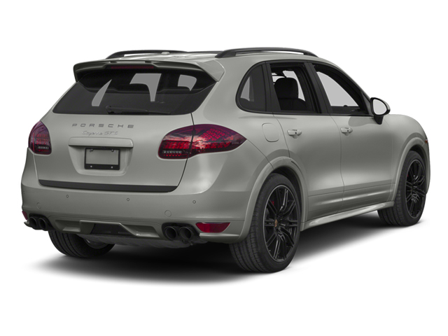 Classic Silver Metallic 2013 Porsche Cayenne Pictures Cayenne Utility 4D GTS AWD photos rear view