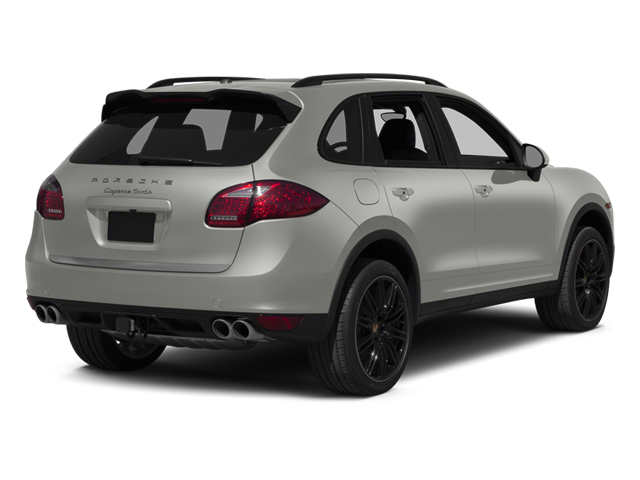 Classic Silver Metallic 2013 Porsche Cayenne Pictures Cayenne Utility 4D Turbo AWD (V8) photos rear view