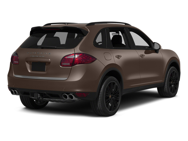 Umber Metallic 2013 Porsche Cayenne Pictures Cayenne Utility 4D Turbo AWD (V8) photos rear view