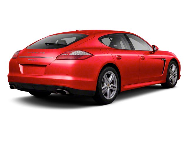 Carmine Red Metallic 2013 Porsche Panamera Pictures Panamera Hatchback 4D 4 AWD photos rear view