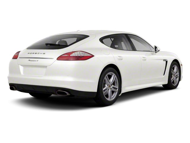 White 2013 Porsche Panamera Pictures Panamera Hatchback 4D Turbo AWD photos rear view