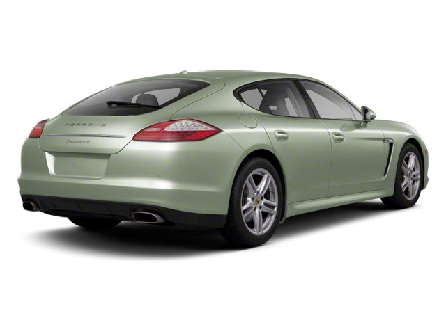Crystal Green Metallic 2013 Porsche Panamera Pictures Panamera Hatchback 4D 4 AWD photos rear view