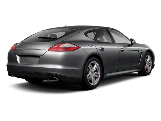 Agate Grey Metallic 2013 Porsche Panamera Pictures Panamera Hatchback 4D 4 AWD photos rear view