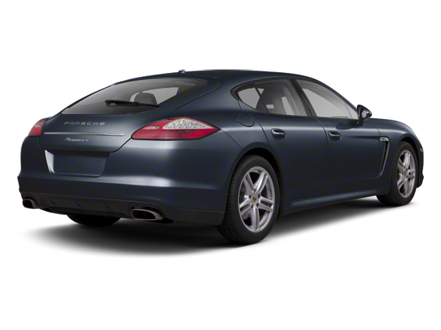 Dark Blue Metallic 2013 Porsche Panamera Pictures Panamera Hatchback 4D Turbo AWD photos rear view