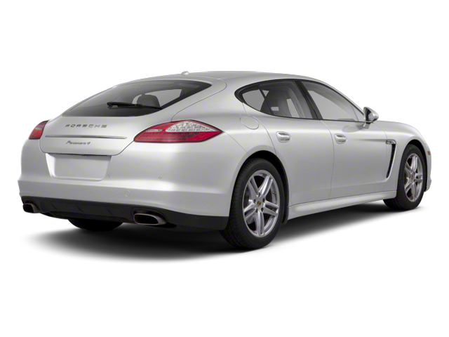 GT Silver Metallic 2013 Porsche Panamera Pictures Panamera Hatchback 4D 4 AWD photos rear view