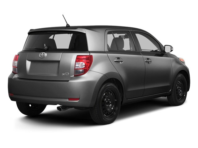 Magnetic Gray Metallic 2013 Scion xD Pictures xD Hatchback 5D I4 photos rear view