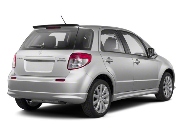Metallic Star Silver 2013 Suzuki SX4 Pictures SX4 Hatchback 5D I4 photos rear view