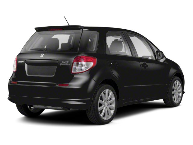 Super Black Metallic 2013 Suzuki SX4 Pictures SX4 Hatchback 5D I4 photos rear view