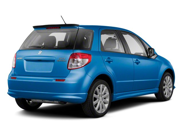 Boost Blue Metallic 2013 Suzuki SX4 Pictures SX4 Hatchback 5D I4 photos rear view