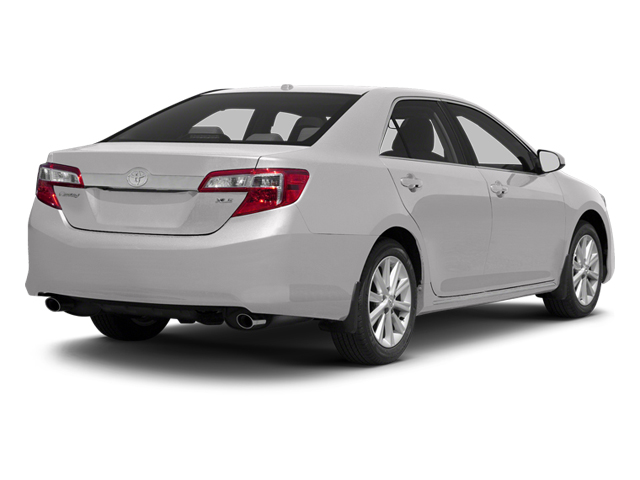 Super White 2013 Toyota Camry Pictures Camry Sedan 4D XLE V6 photos rear view