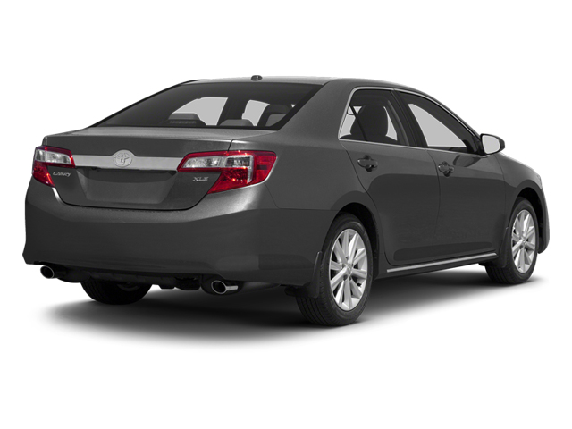 Magnetic Gray Metallic 2013 Toyota Camry Pictures Camry Sedan 4D XLE V6 photos rear view