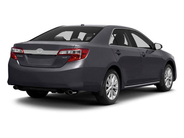 Cosmic Gray Mica 2013 Toyota Camry Pictures Camry Sedan 4D XLE V6 photos rear view