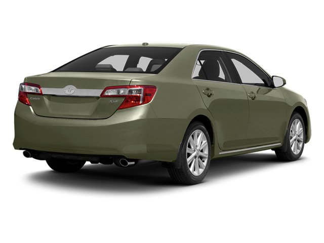 Cypress Pearl 2013 Toyota Camry Pictures Camry Sedan 4D XLE V6 photos rear view