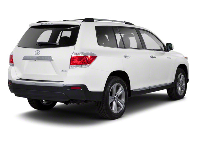 Blizzard Pearl 2013 Toyota Highlander Pictures Highlander Utility 4D 2WD I4 photos rear view