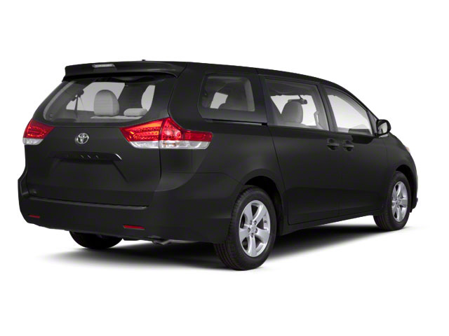 Black 2013 Toyota Sienna Pictures Sienna Wagon 5D LE AWD V6 photos rear view