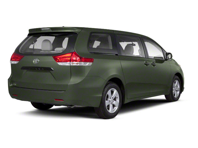 Cypress Pearl 2013 Toyota Sienna Pictures Sienna Wagon 5D LE AWD V6 photos rear view