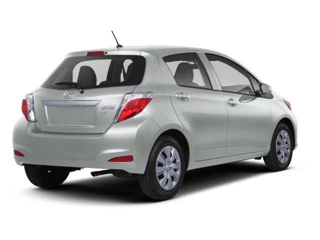 Classic Silver Metallic 2013 Toyota Yaris Pictures Yaris Hatchback 5D LE I4 photos rear view