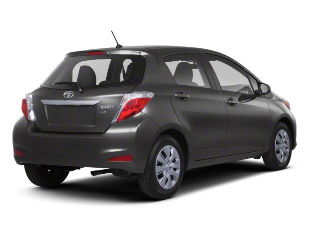 Magnetic Gray Metallic 2013 Toyota Yaris Pictures Yaris Hatchback 5D LE I4 photos rear view