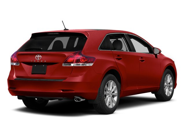 Barcelona Red Metallic 2013 Toyota Venza Pictures Venza Wagon 4D XLE AWD photos rear view