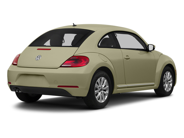 Moonrock Silver Metallic 2013 Volkswagen Beetle Coupe Pictures Beetle Coupe 2D TDI photos rear view