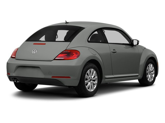Platinum Gray Metallic 2013 Volkswagen Beetle Coupe Pictures Beetle Coupe 2D 2.5 I5 photos rear view
