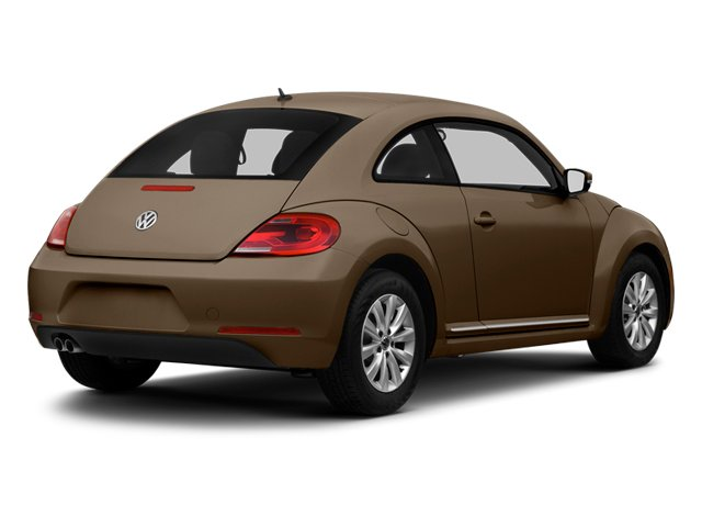 Toffee Brown Metallic 2013 Volkswagen Beetle Coupe Pictures Beetle Coupe 2D 2.5 I5 photos rear view