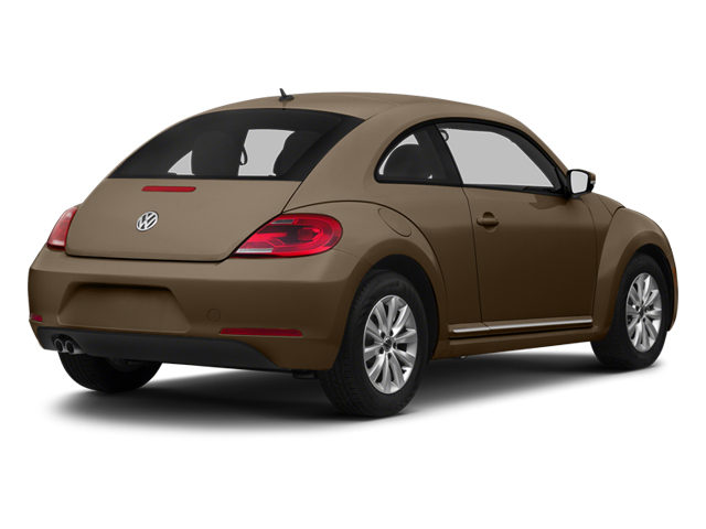 Toffee Brown Metallic 2013 Volkswagen Beetle Coupe Pictures Beetle Coupe 2D TDI photos rear view