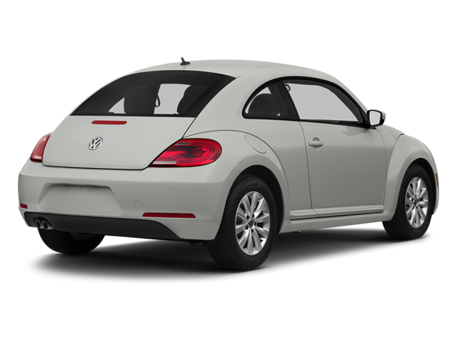 Reflex Silver Metallic 2013 Volkswagen Beetle Coupe Pictures Beetle Coupe 2D 2.5 I5 photos rear view