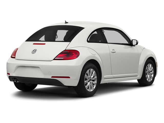 Candy White 2013 Volkswagen Beetle Coupe Pictures Beetle Coupe 2D TDI photos rear view